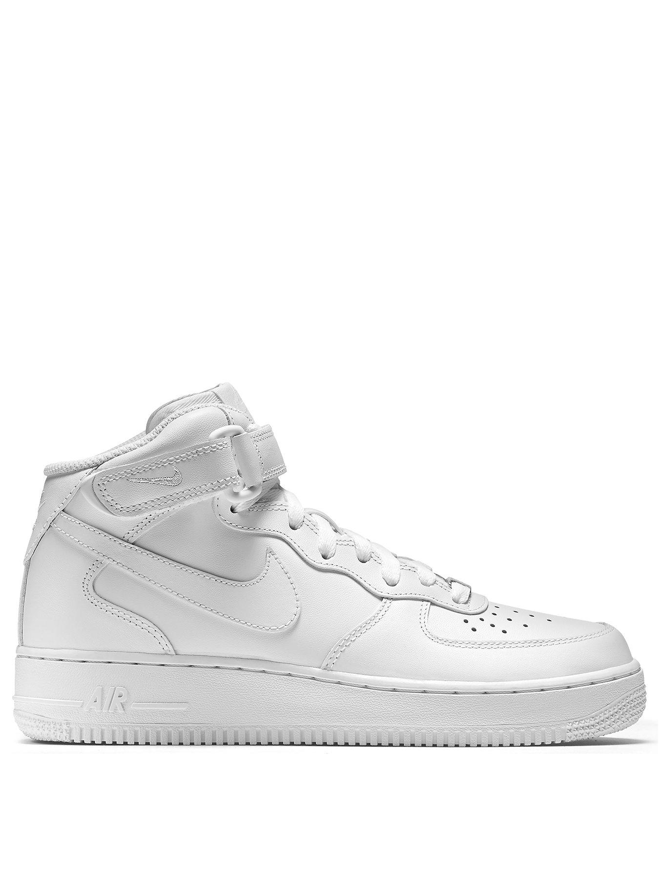 nike air force 1 mid 07 grey/white bathrooms