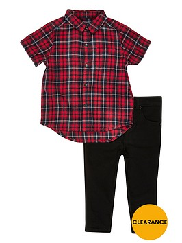 river-island-mini-boys-checked-shirt-and-jeans-outfit
