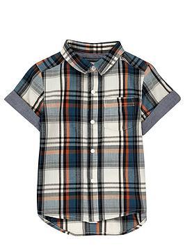 river-island-mini-boys-ecru-check-shirt
