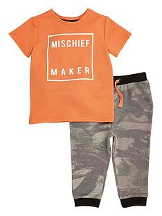 river-island-mini-boys-orange-t-shirt-and-camouflage-joggers-set