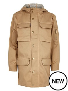 river-island-boys-stone-lightweight-utility-coat