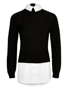 river-island-girls-black-layered-shirt-jumper