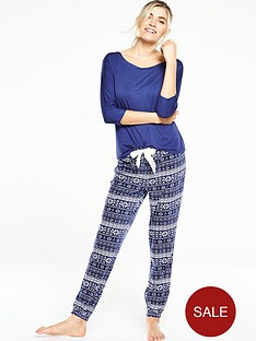 v-by-very-fleece-pant-and-jersey-top-pj