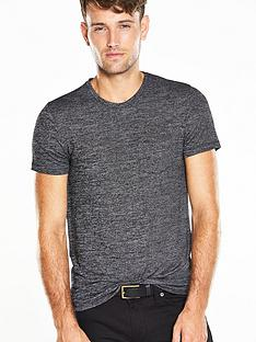 v-by-very-short-sleeve-knitted-t-shirt