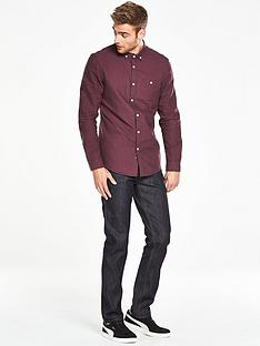 v-by-very-long-sleeve-brushed-oxford-shirt