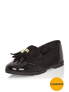 river-island-mini-girls-black-tassel-loafers