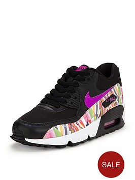 nike-air-max-90-print-mesh-children