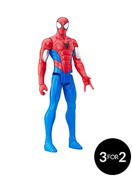 marvel-marvel-spider-man-titan-hero-series-armoured-spider-man-figure