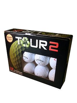 Longridge Tour 2 Callaway Mixed Lake Balls (12 Pack)