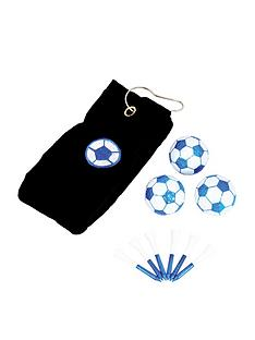 longridge-football-bluewhite-towel-gift-set