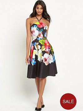 ted-baker-forget-me-not-halterneck-dress