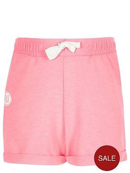 river-island-girls-pink-boxy-badge-shorts