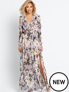 myleene-klass-deep-v-front-maxi-dress