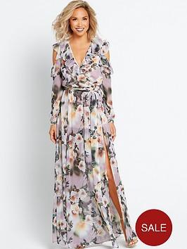 myleene-klass-deep-v-front-maxi-dress