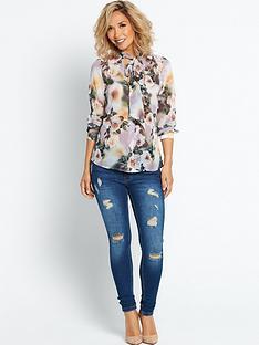 myleene-klass-floral-printed-blouse