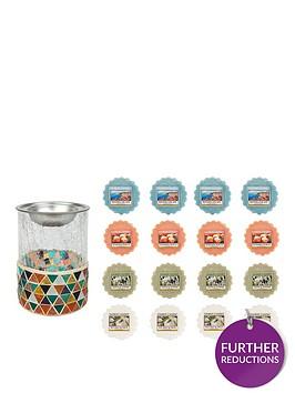 yankee-candle-corsica-mosaic-melt-warmer-with-16-wax-melts