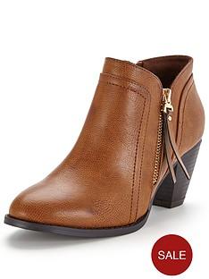 wallis-atlanta-side-zip-ankle-boot