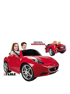 feber-ferrari-california-12v-battery-operated-car