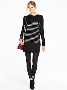 v-by-very-metallic-stripe-button-shoulder-tunicnbsp