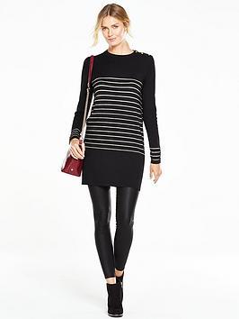 v-by-very-metallic-stripe-button-shoulder-tunicnbsp