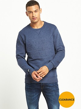 superdry-embossed-crew-neck-mens-sweat-blue-marl