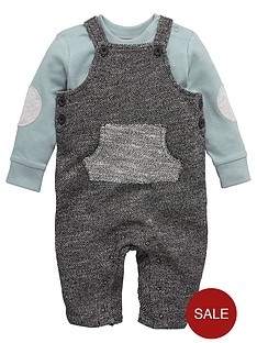 ladybird-baby-boys-textured-dungaree-and-t-shirtnbspset