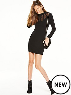 v-by-very-turtle-neck-mesh-panel-bodyconnbspdress