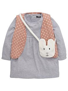 mini-v-by-very-girls-sweat-dress-quiltednbspgilet-and-fluffy-animal-bag-set-3-piece