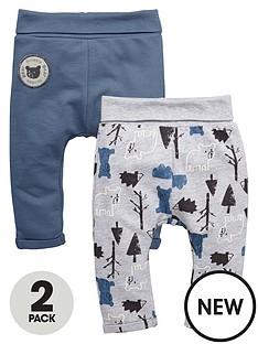 ladybird-baby-boys-2pk-loopback-jogger