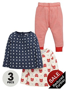 ladybird-baby-girls-printed-t-shirts-and-leggings-set-3-piece