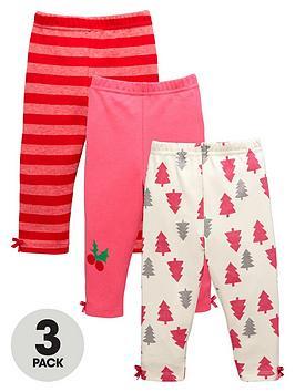 ladybird-baby-girls-3pk-xmas-legging