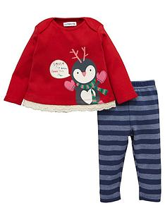 ladybird-baby-girls-christmas-penguin-top-and-leggings-set