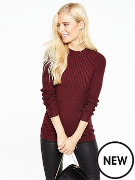 v-by-very-long-sleeve-twist-yarn-turtle-neck-jumper