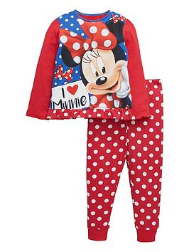 minnie-mouse-girls-i-love-pyjamas