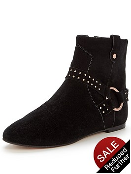 ted-baker-sonoar-suede-flat-ankle-boot