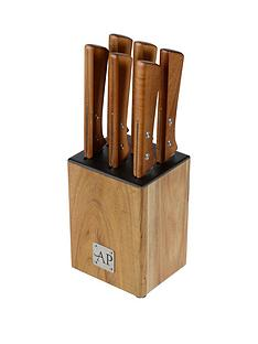 arthur-price-apk-set-of-6-steak-knives-and-knife-block