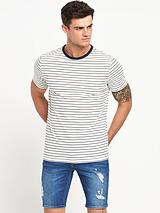 Pocket Roll Sleeve T-Shirt