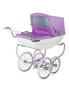 silver-cross-oberon-sparkle-purple-dolls-pram