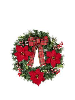 21-inch-red-berry-pine-cone-and-poinsettia-artificial-christmas-wreath