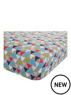 catherine-lansfield-geo-kids-single-size-fitted-bed-sheet