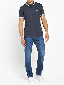Boss Boss Tipped Collar Polo Shirt - Navy Picture