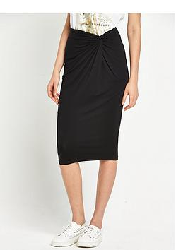 river-island-twist-knot-bodyconnbsppencil-skirt