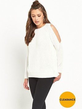 river-island-knitted-open-back-jumper