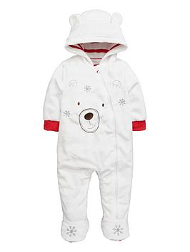 ladybird-baby-unisex-polar-bear-fleece-cuddle-suit