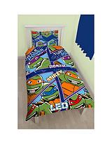 Dimensions Reversible Single Duvet Cover and Pillowcase Set