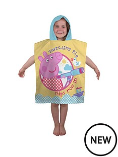 peppa-pig-nautical-poncho