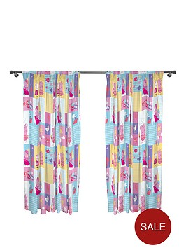peppa-pig-nautical-pleated-curtains