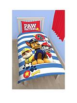 Pawsome Reversible Single Duvet Cover and Pillowcase Set