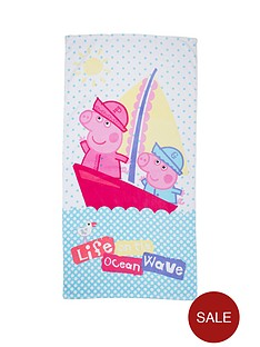 peppa-pig-nautical-towel