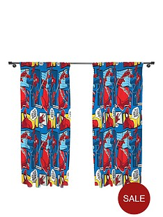 spiderman-webhead-pleated-curtains